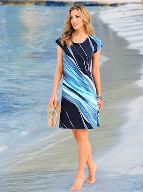 Arabella Sommerkleid - marine-blau