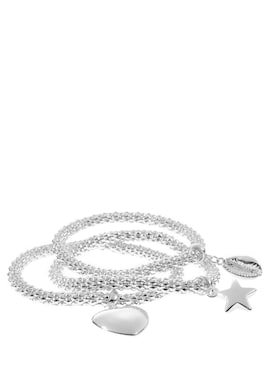 LASCANA Set met armband - zilverkleur