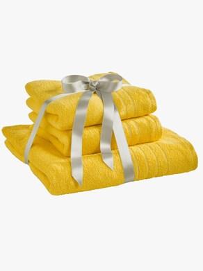 wäschepur Handtuch - gelb