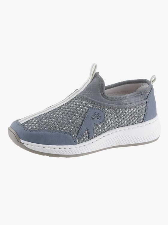 Rieker Slipper - blau