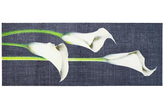 Salonloewe Fußmatte - grau-weiß
