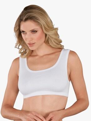 wäschepur Bustier - weiß