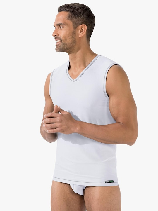 Kumpf Unterhemd - weiß