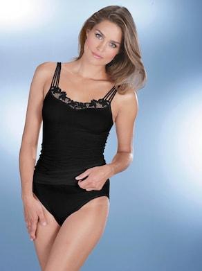 comazo Trägerhemd - schwarz
