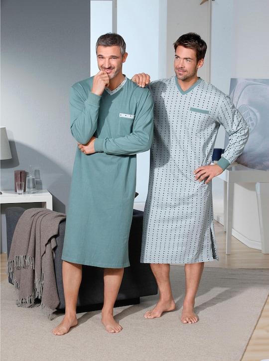 KINGsCLUB Nachthemden - mint + mint-bedruckt