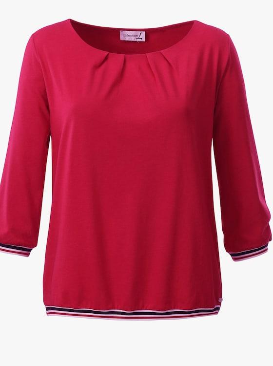 Shirt - erdbeerrot