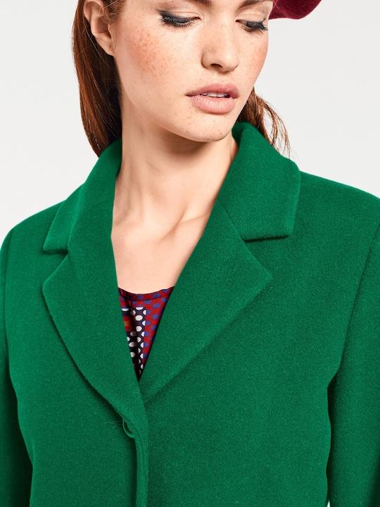 Rick Cardona Korte mantel - groen