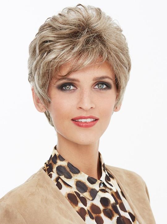 Perücke Ellen - blond-gesträhnt