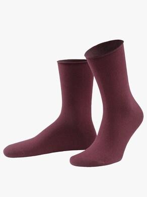Sympatico Dámské ponožky - bordó