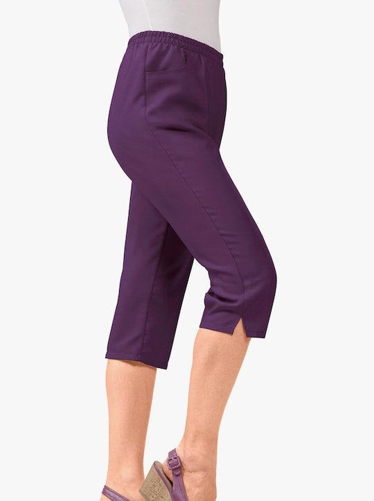 Capri-legging - prune