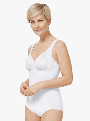 wäschepur Korselett utan bygel - vit
