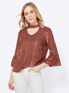 Shirt - roodbruin