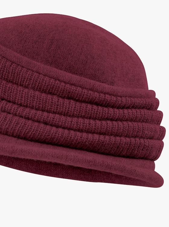 Mütze - bordeaux