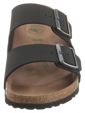 Birkenstock slippers - zwart