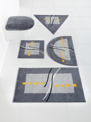 Grund Badgarnitur - grau-gelb