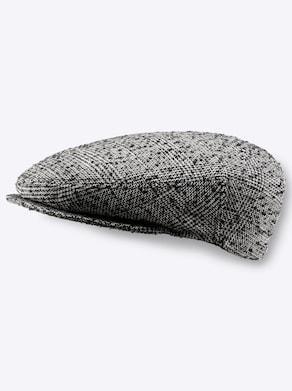 Mütze - schwarz-gemustert