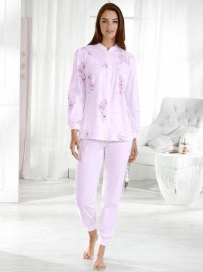 Schlafanzug - rosé-bedruckt
