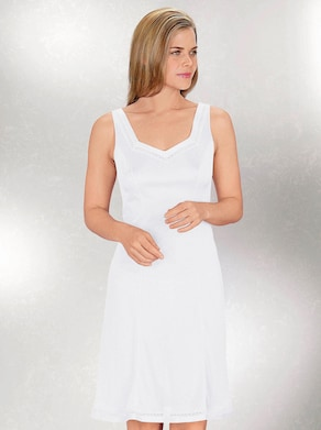 Südtrikot Onderjurk - wit