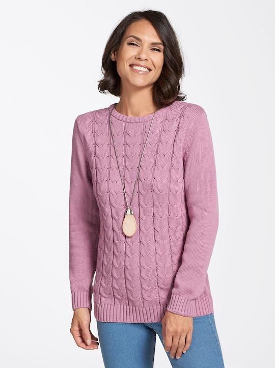 Collection L Pullover - altrosé