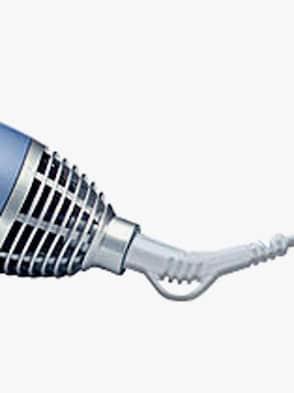 Elektrisches Haarpflege-Set - Silber