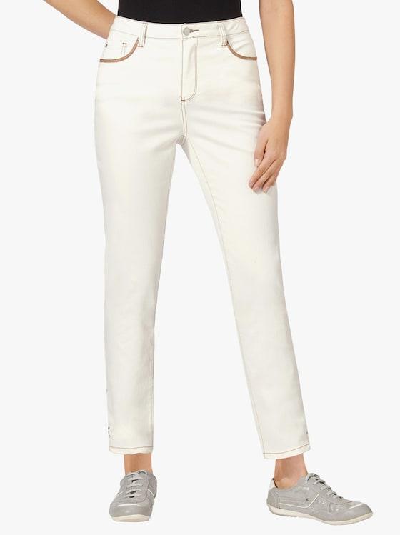 7/8-Jeans - ecru