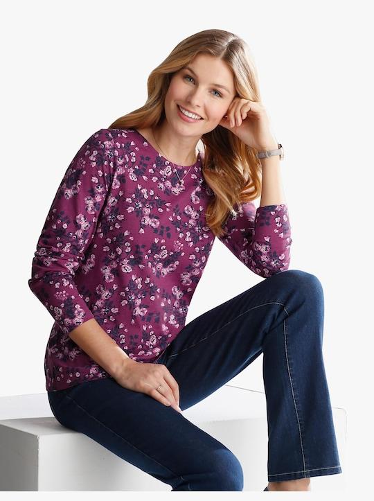 Shirt - pink geprint