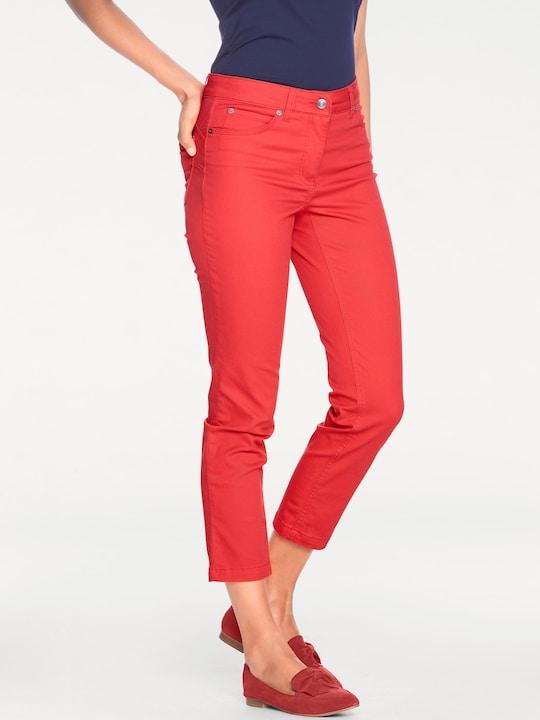 Ashley Brooke Bauchweg-Jeans - hibiskus