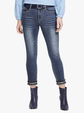 Push-up-Jeans - blue denim