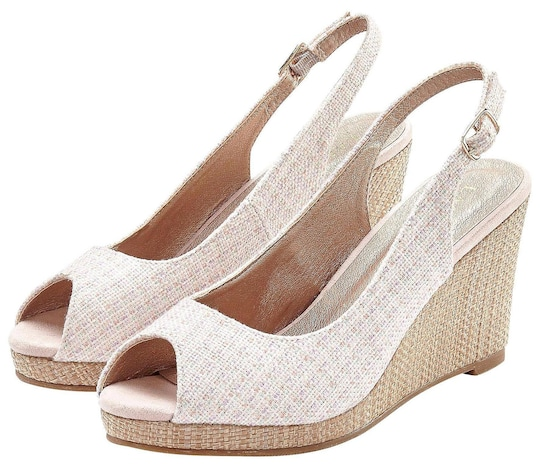 LASCANA High-Heel-Sandalette - rosé