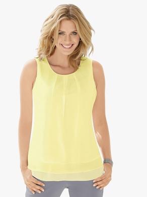 Blusentop - limone