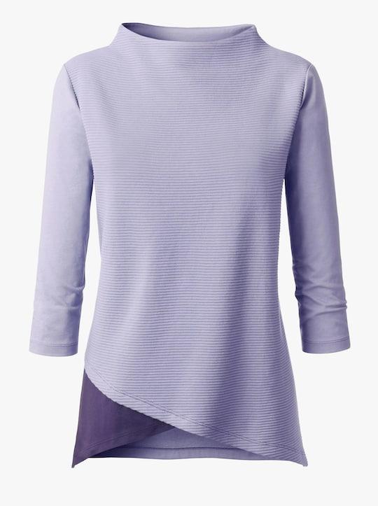 Longshirt - lavendel