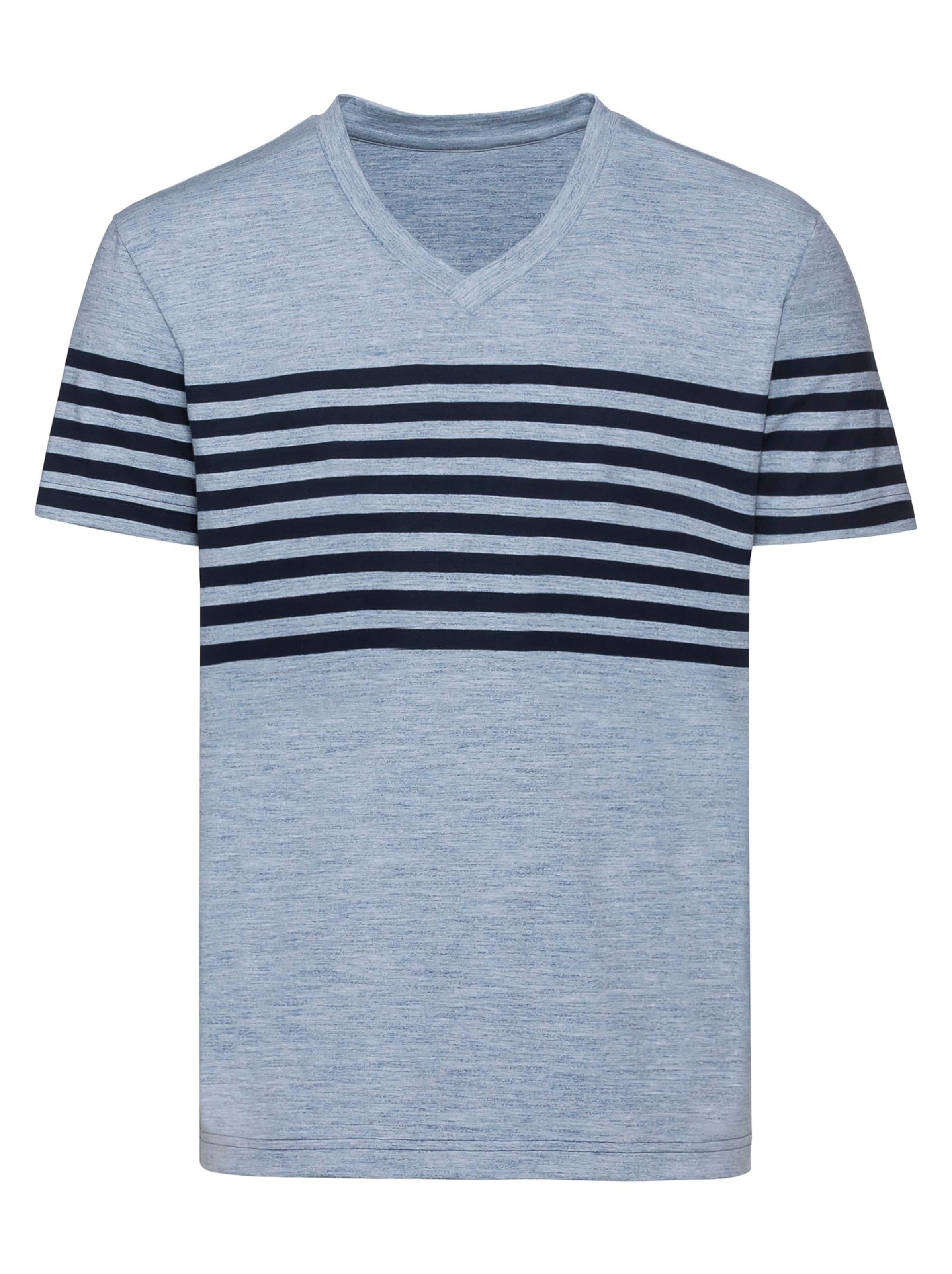 catamaran - Witt Weiden Herren Kurzarm-Shirt blau