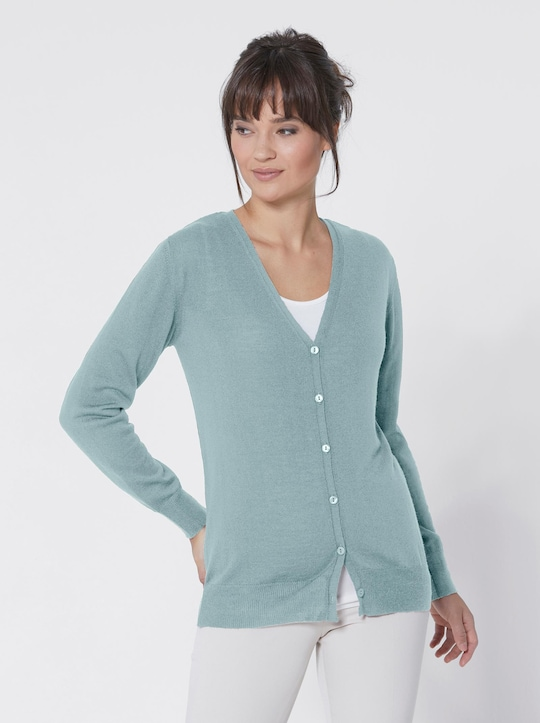 Collection L Strickjacke - mint