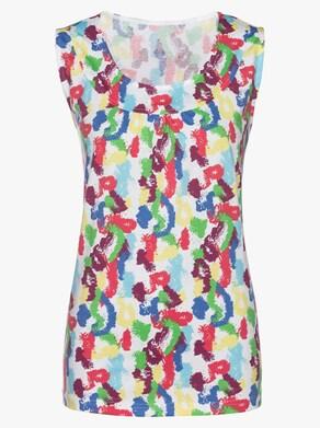 Shirttop - hummer-aquamarine-bedruckt