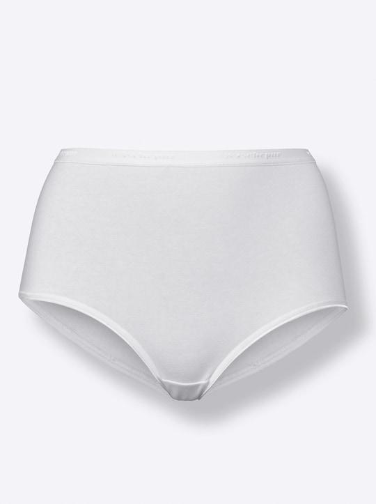 Taillenslip - weiß