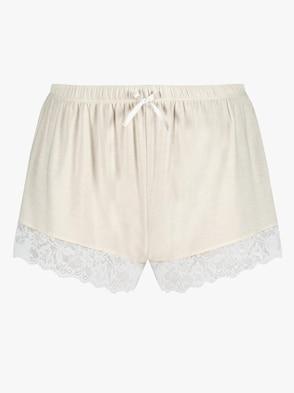 Pants - elfenbein