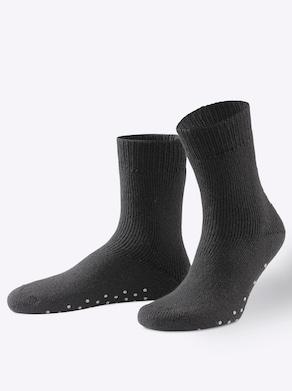 wäschepur Thermo-Socken - schwarz