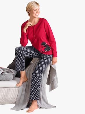 Schlafanzug - rot