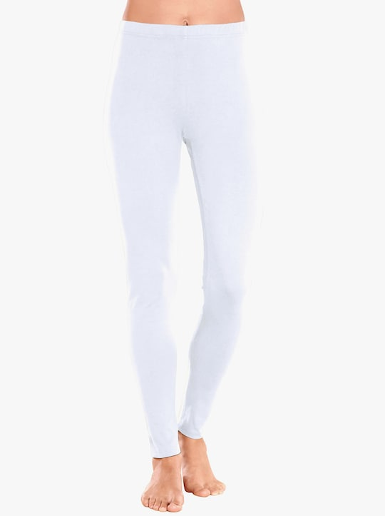 Leggings - weiß