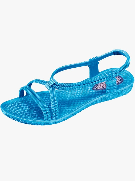 Badslippers - turquoise