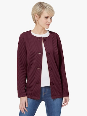 Shirtjacke - bordeaux