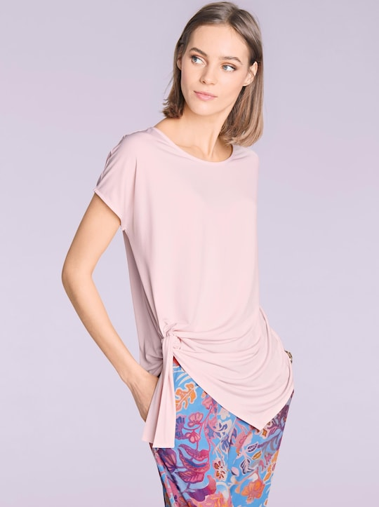 Ashley Brooke Rundhals-Shirts - rosa