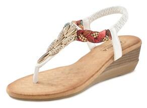 LASCANA Sandalette - weiß