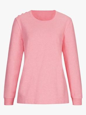 Shirt - rosé-meliert