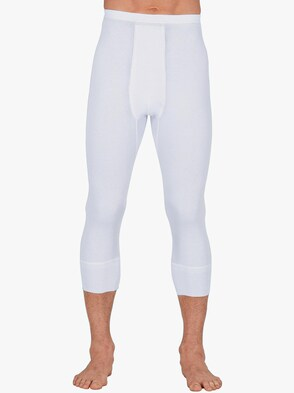Hose 3/4-lang - weiß