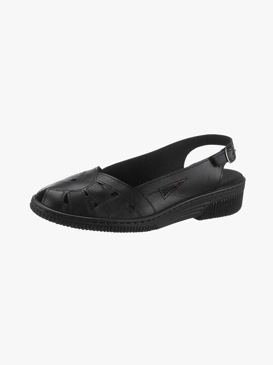 Kiarteflex Sandalette - schwarz
