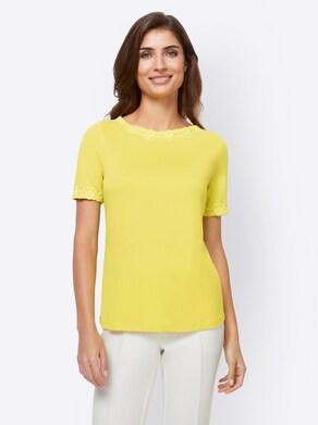 Ashley Brooke Shirt - limone