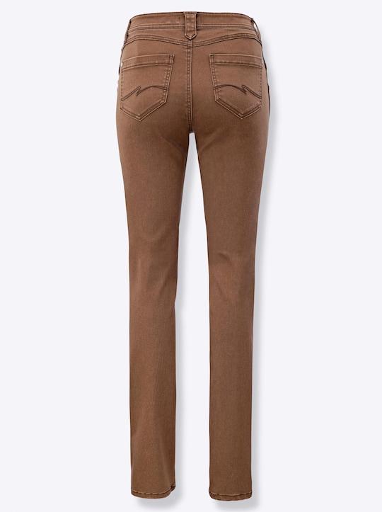 Jeans - braun