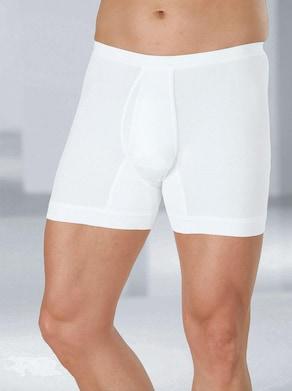 Schiesser Hose kurz - weiß