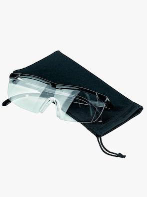 Vergrößerungsbrille - schwarz